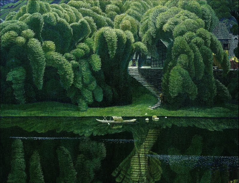Jian Chong Min,  Bottle Brush Trees