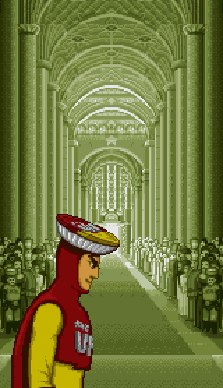 obscurevideogames :     church  - UFO Kamen Yakisoban   (KID - Super Famicom - 1994)