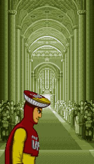 obscurevideogames: church - UFO Kamen Yakisoban(KID - Super Famicom - 1994)