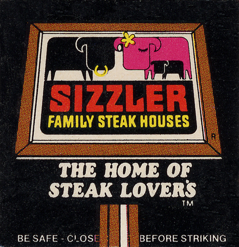 louxosenjoyables: Sizzler Family Steak House, 1970's by Roadsidepictures on Flickr.