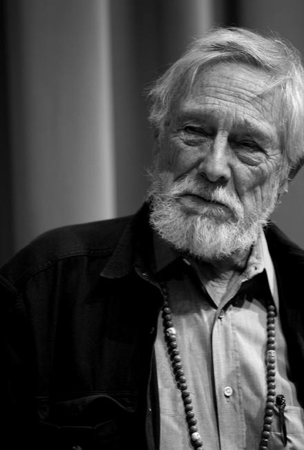 ismylastbreath :       [ Gary Snyder at Poets House in New York (by Lawrence Schwartzwald) - 12.11.10]       There Are Those Who Love To Get Dirty     There are those who love to get dirty   and fix things.   They drink coffee at dawn,   beer after work,    And those who stay clean,   just appreciate things,   At breakfast they have milk   and juice at night.    There are those who do both,   they drink tea.