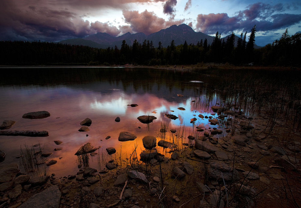 1st Place: Patricia Lake by Rick Fee