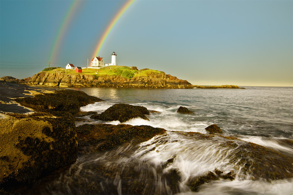 The Whales and Lighthouse workshop in southern Maine proved that even though mother nature doesn't always cooperate - no whales and a moonsoon-like thunderstorm, in that order - if you wait long enough, magic can happen!