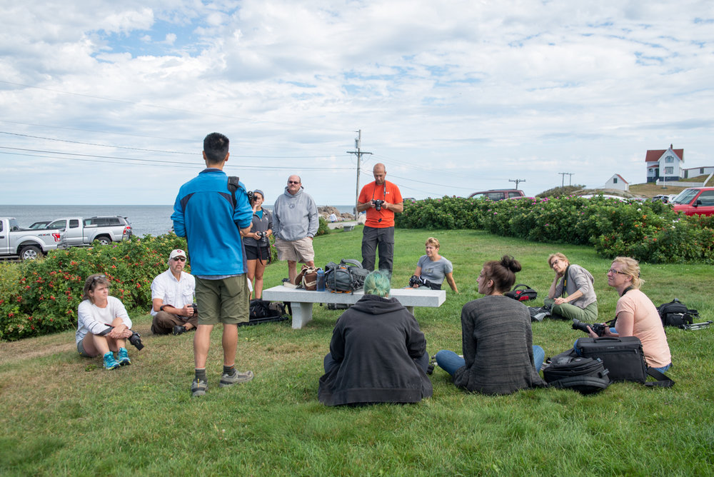 Beginner's Bootcamp at Nubble Lighthouse