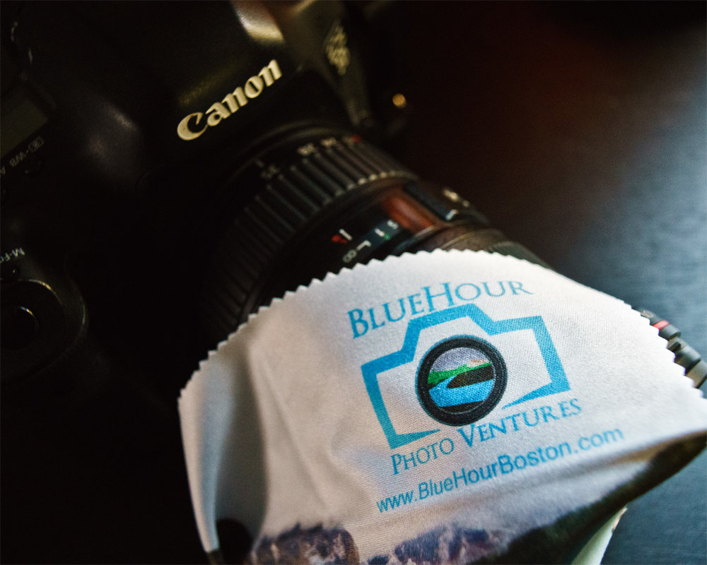 A lens cloth -  our awesome lens cloth  to be precise - is your best friend.