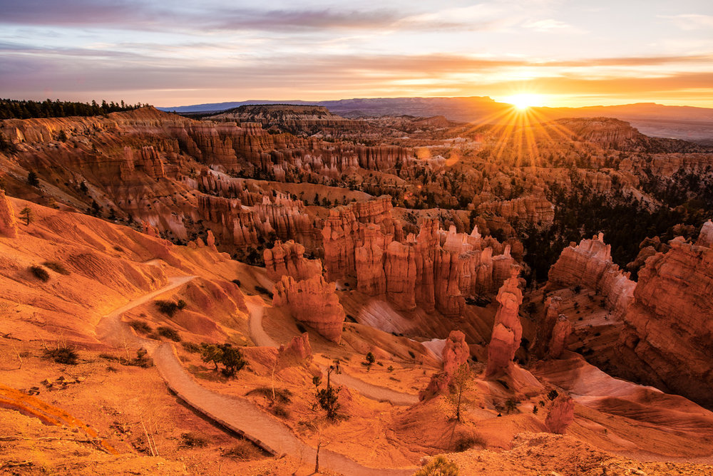 Sunrise over Bryce Canyon © Allie Richards