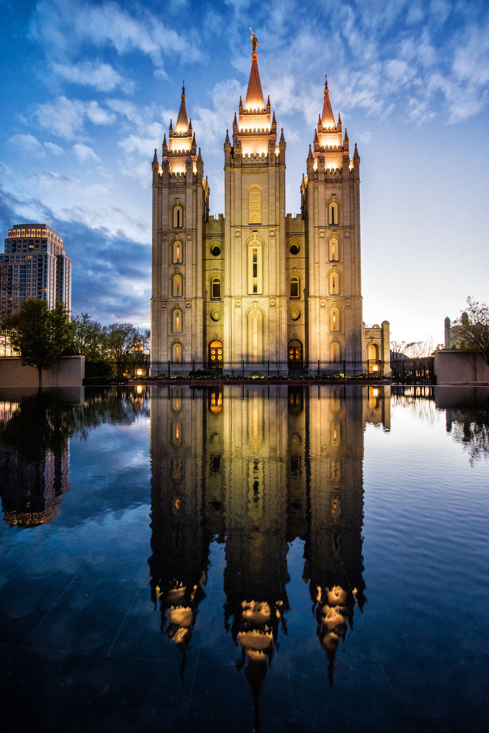 Salt Lake Temple © Allie Richards