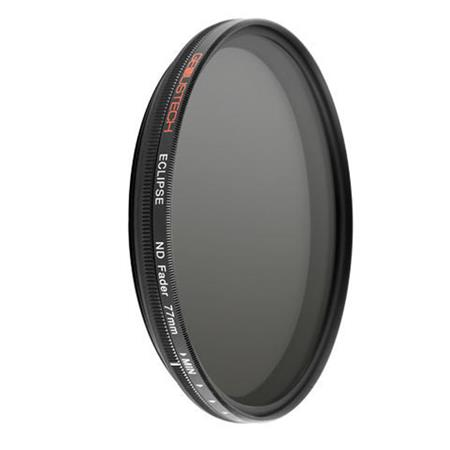 A  variable ND filter  is a special type of neutral density filter that lets you choose how much density, or darkness, you want by simply twisting the ring. Just make sure you choose one that matches the size of your lens' filter thread.