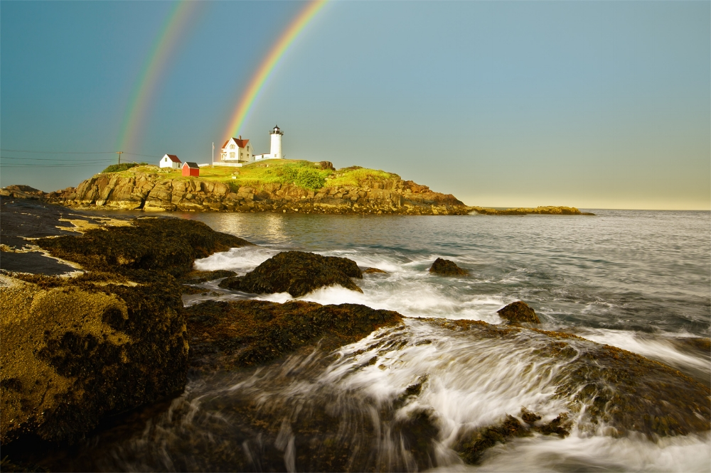 Nubble Lighthouse, York, Maine Click here for  April 21  or here for  June 30