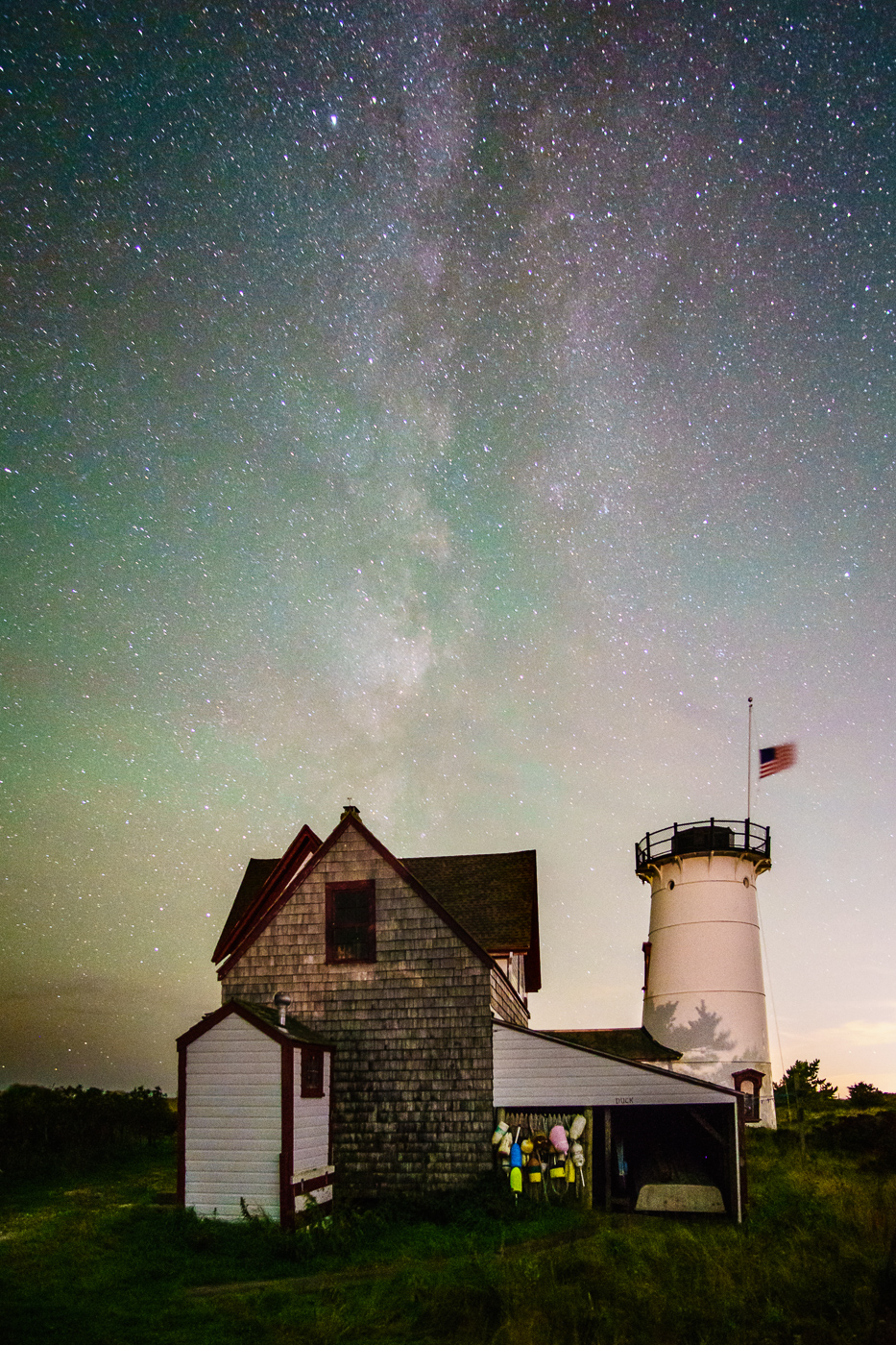 Stage Harbor Lighthouse Milky Way.jpg