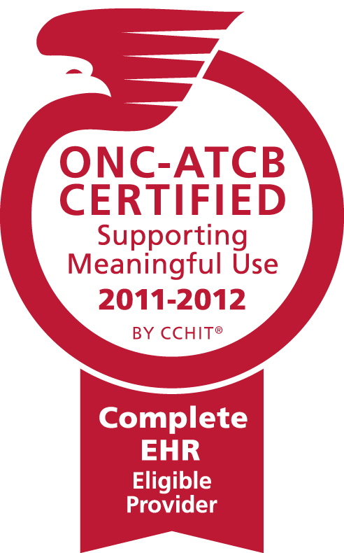 ONC-ATCB Certified Supporting Meaningful Use 2011-2012 By CCHIT - Complete EHR Eligible Provider