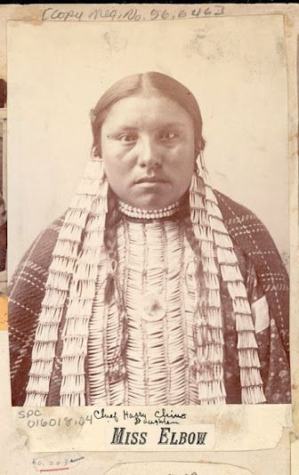 Elbow (the daughter of Hairy Chin) - Hunkpapa - no date