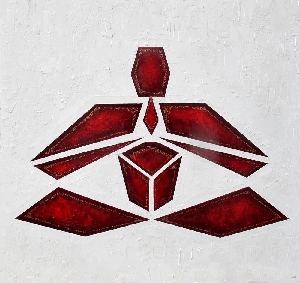 Padmasana - Crimson