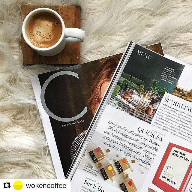 Excited to see Woken getting some great press! ☕️ #repost #wokencoffee #compostable