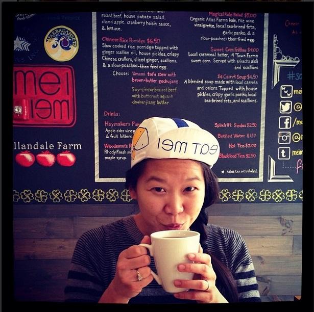 THE EXAMINER 10 Questions for a Food Entrepreneur: Mei Li of Mei Mei August 19, 2014 / Written by Rachel Greenberger