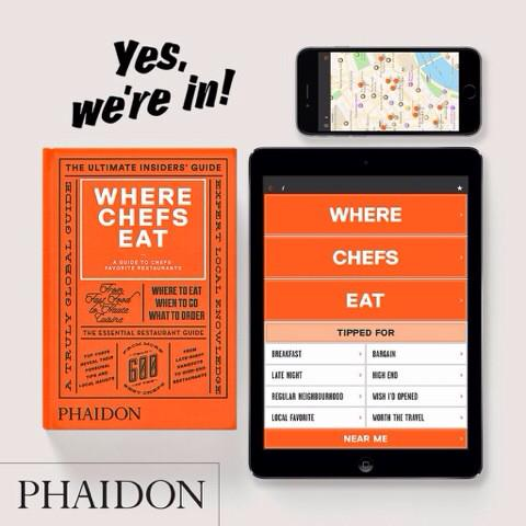 PHAIDON Where Chefs Eat Mei Mei named by Yotam Ottolenghi Released February 2015