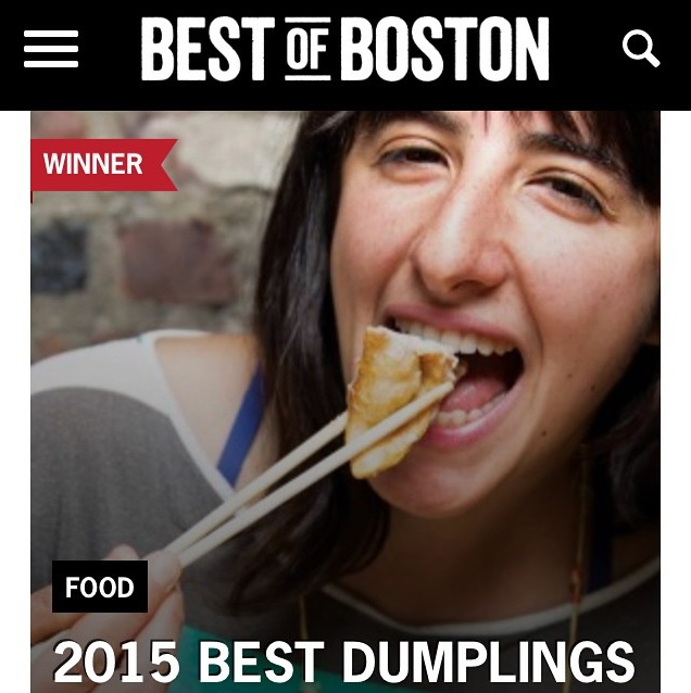 BOSTON MAGAZINE  Best of Boston / DUMPLINGS