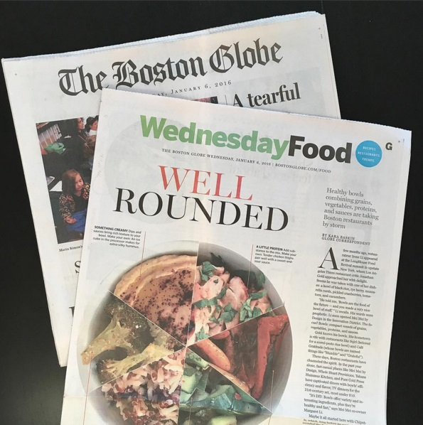 BOSTON GLOBE Well Rounded / Kara Baskin / January 2016