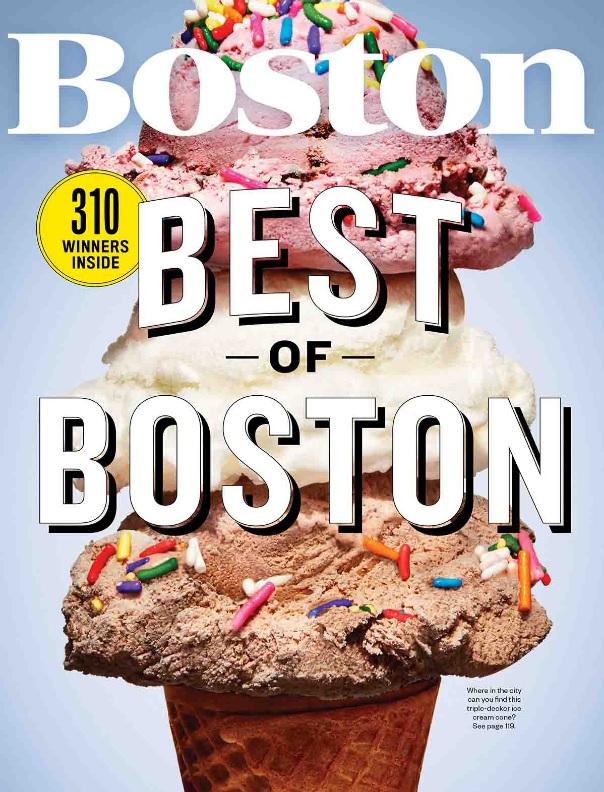 BOSTON MAGAZINE Best of Boston 2016:Best Dumplings / June 2016