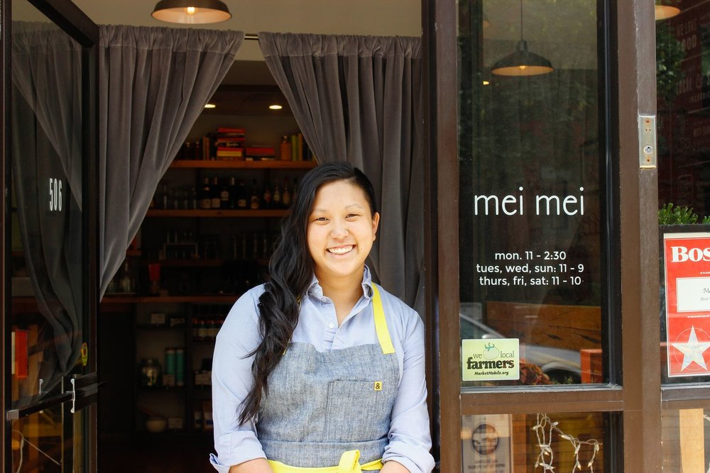EATER: Beyond the Line at Mei Mei, Irene Li's Boston Restaurant  August 2016