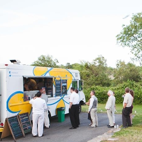 FOOD TRUCK WEDDINGS AND PARTIES we drive the truck to your special event and provide everything needed to feed your guests!
