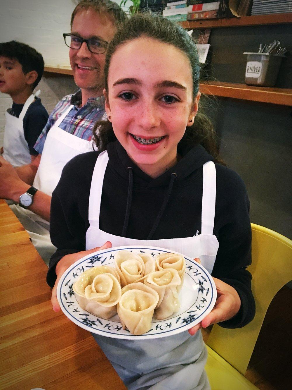 Dumpling Class roses!