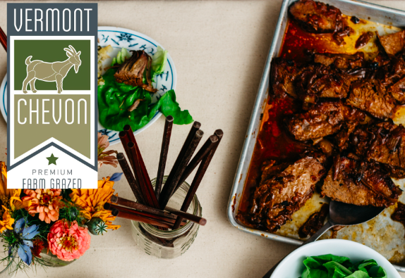 Nose to Tail Dinner - March 27, 2019, 7pm - 9pm: A whole animal dinner focused around Vermont Chevon's high quality sustainable goat. Vermont Chevon works hand in hand with the state's award winning goat dairies to sustain and supply the region with a formerly overlooked source of delicious and healthy meat.All dinners are multiple-course family style meals and include one alcoholic beverage and gratuity.