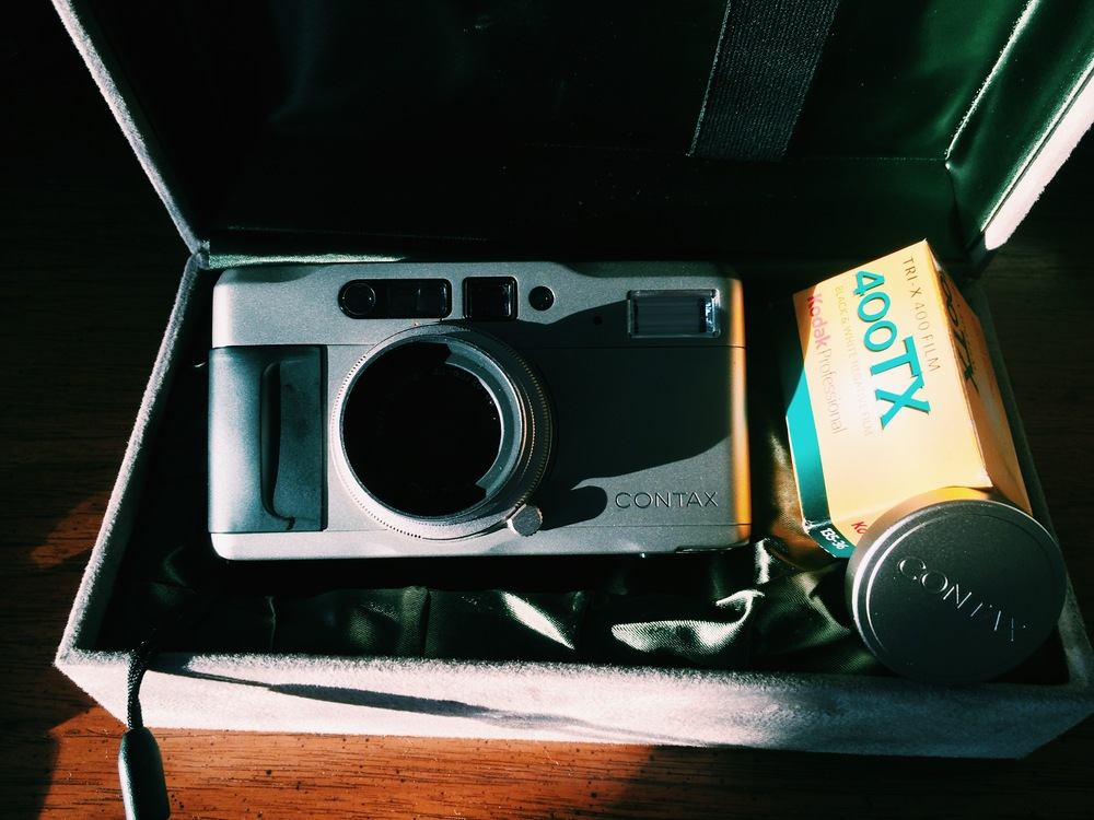 First day I received this baby, free roll of Tri-x!
