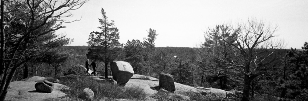 A Shot on Panorama Mode. Tri-X developed in Sprint chemistry and scanned on Epson V700