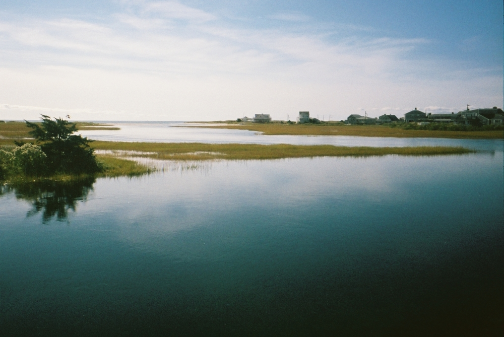 Kodak Porta 400. Developed and scanned  by my local camera store. Water view in my home town on Cape Cod,MA