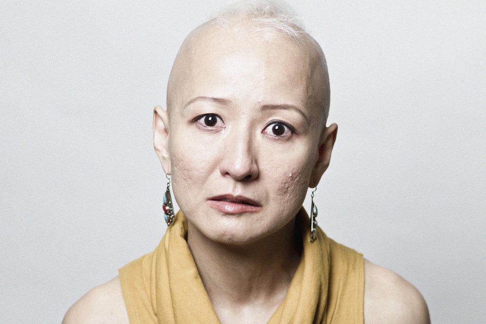 Yokko. Movement Artist.Actor. Word- women
