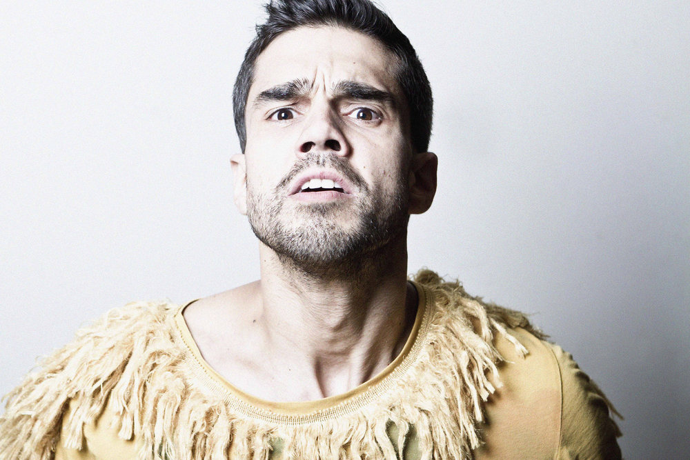 Jorge Luna. Actor.Photographer. Word- deportation (self-portrait) (costume  valentinpeter.de  )