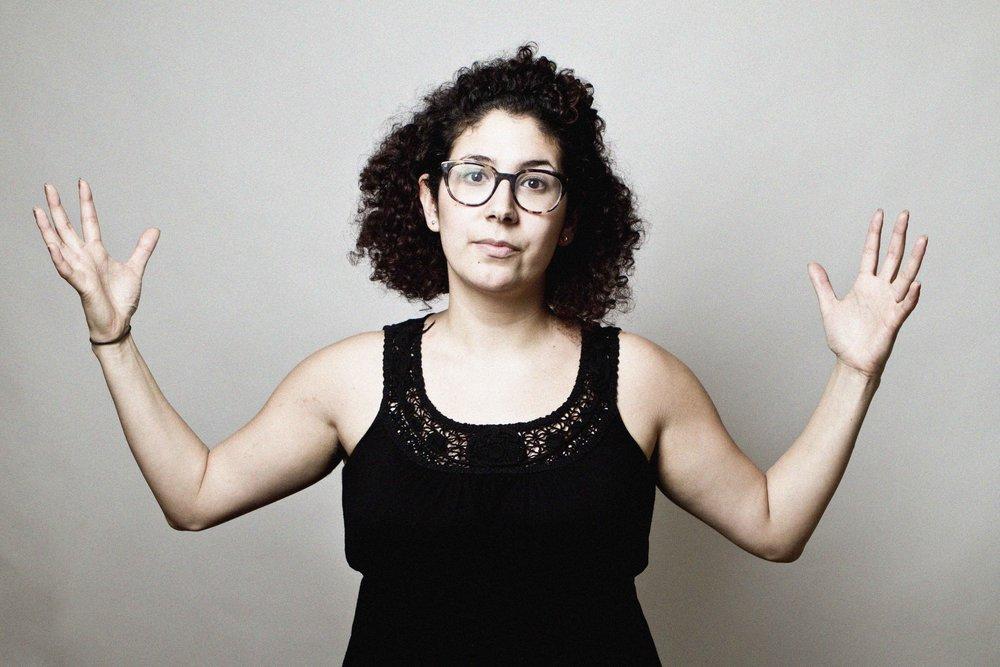 Drea Herrera. Immigrants' Rights Organizer, Slam Poet. Word- violence