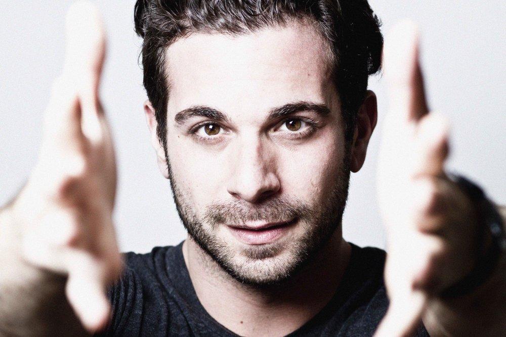 Frank De Julio.Actor. Words- being gay