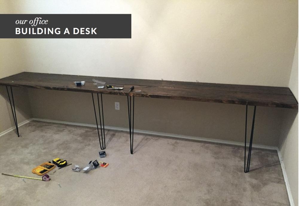 Diy Work Desk Peninsula Office Desk