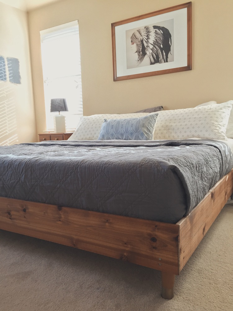 DIY bed from TheGreatGoodness.com
