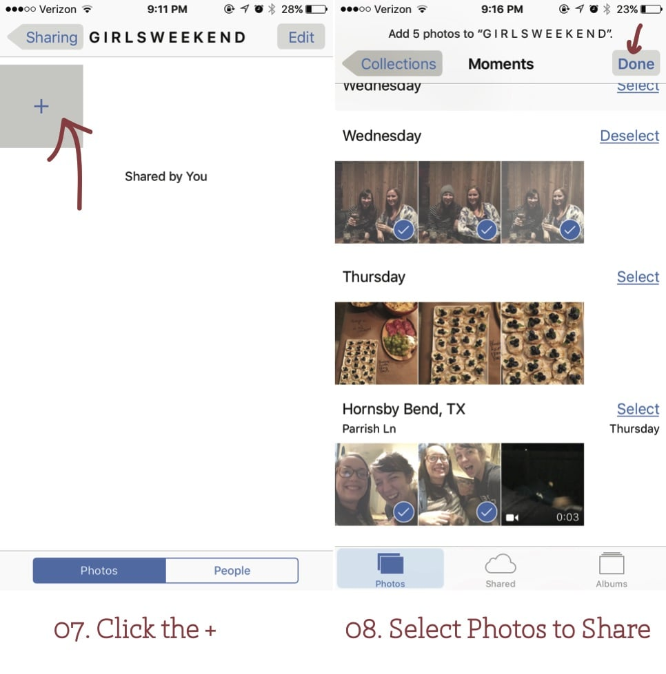 4 Ways to Use Photo Sharing on Your Iphone + A Tutorial | www.thegreatgoodness.com