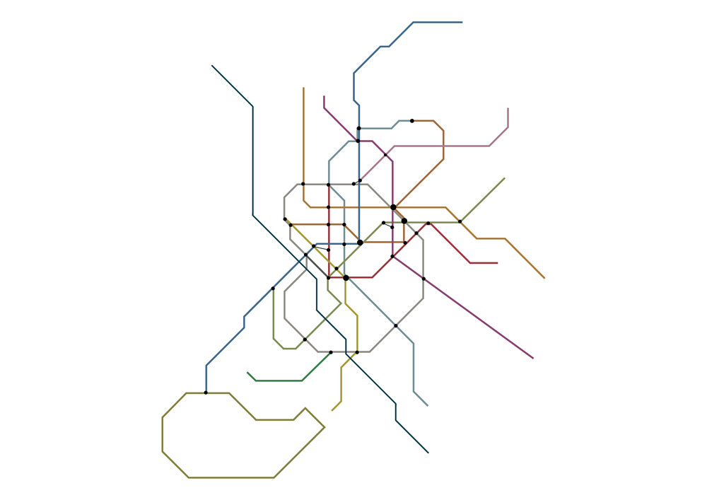 focusing on smoothing metro lines