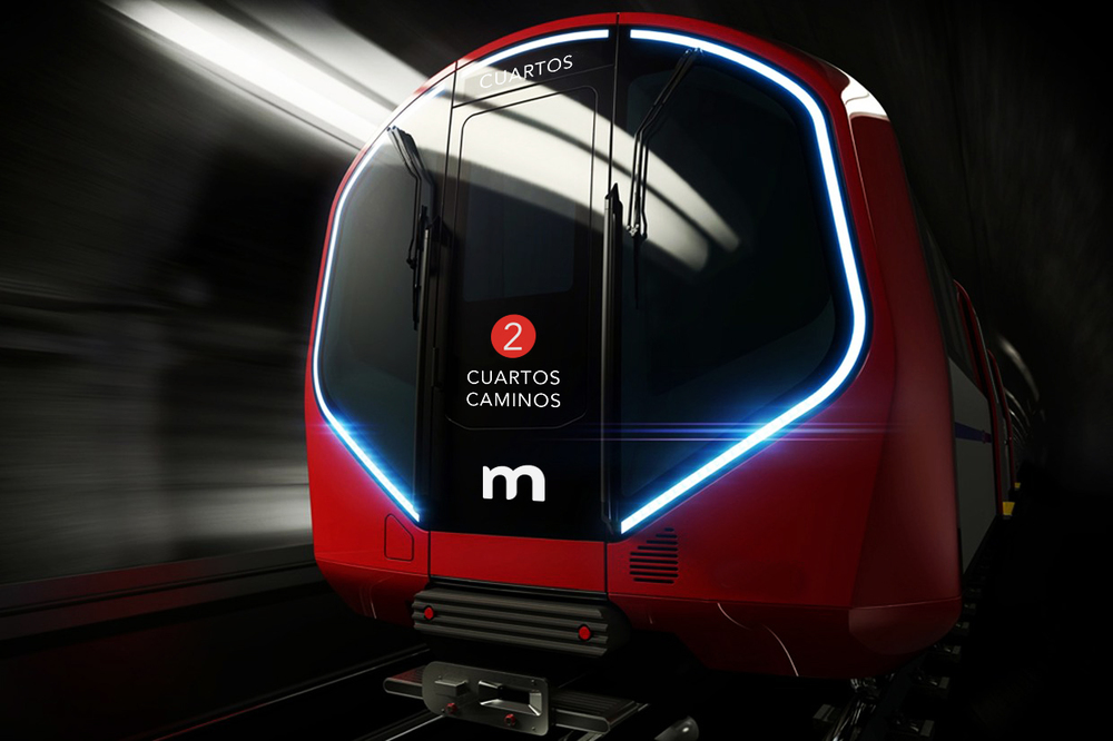 Visual System | highlighting the new look of Madrid Metro