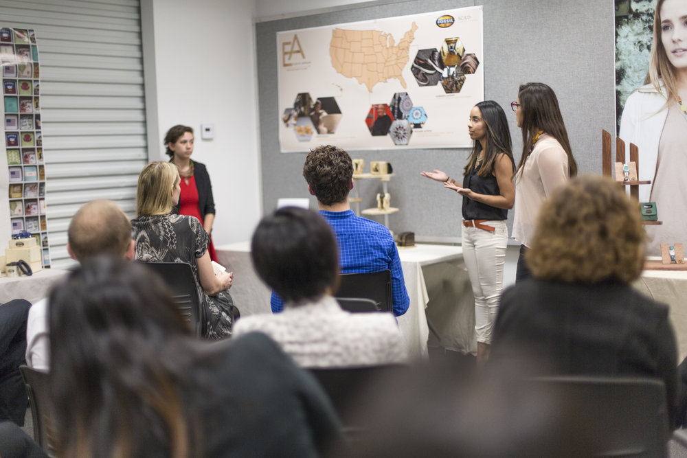Jewelry – Collaborative Learning Center and Fossil, Final Presentation, November 18 2013 – Photography by Marc Newton, courtesy of SCAD.