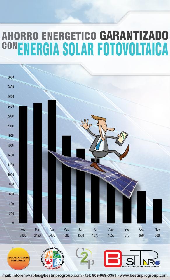 Permite ahorrar todos los meses la totalidad de la energía producida por los paneles. Consiga eficiencia y grandes ahorros desde el primer día. Solicítenos una visita y presupuesto sin compromiso.
