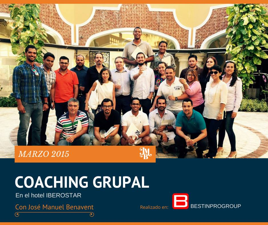 Coaching Grupal Bestinprogroup con Jose Manuel Benavent  JMBP Corporate & Human Consulting  en  Iberostar Grand Bavaro