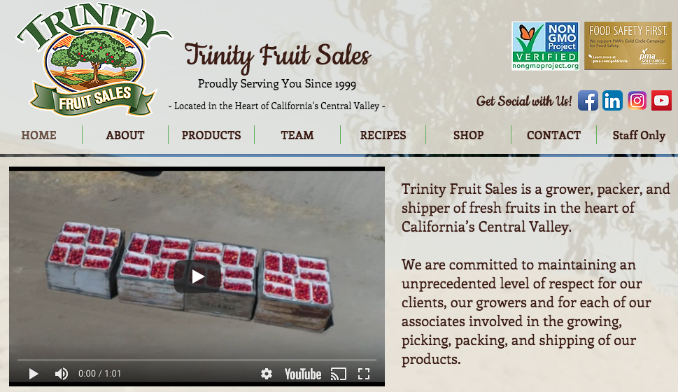 Trinity Fruit Sales