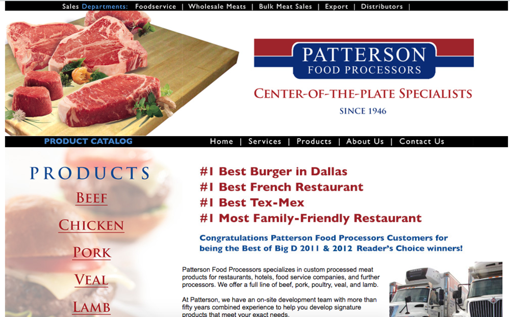 Patterson Food Processors