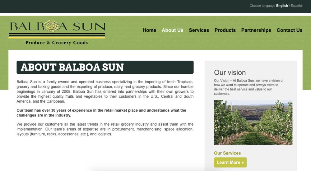 Balboa Sun