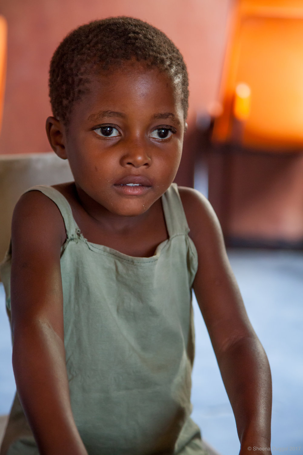 Beautiful orphan girl Zimbabwe 2010