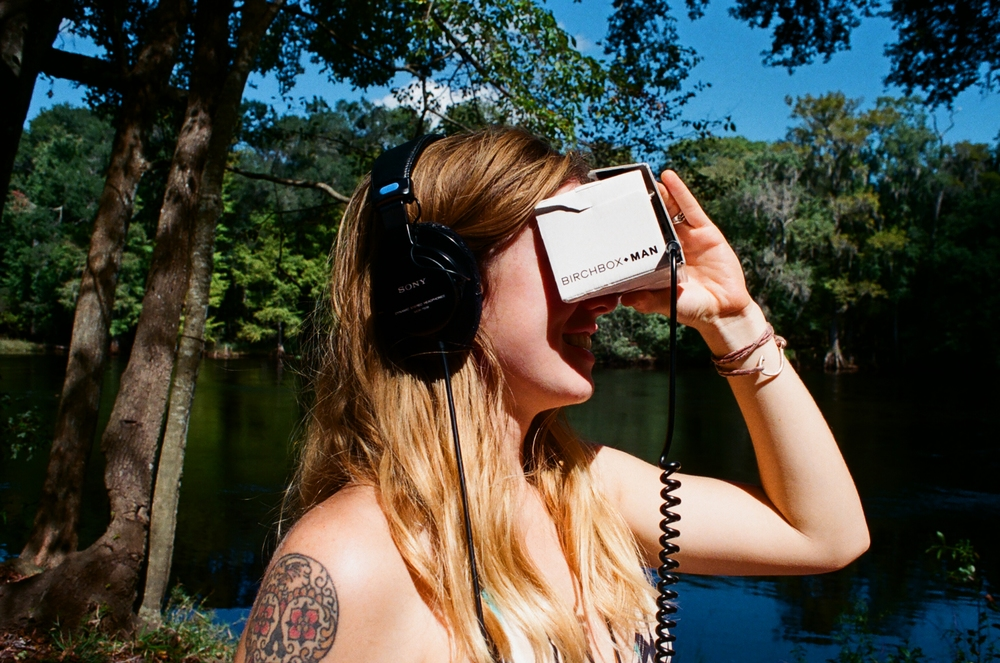 Glenn's virtual reality, Ginnie Springs, FL, 2015