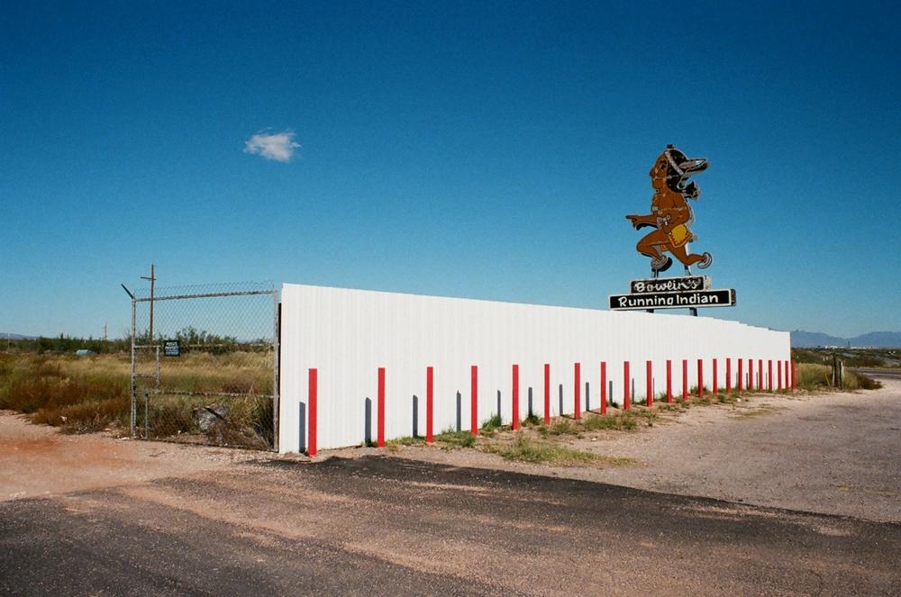 Pit stop, Arizona, 2015