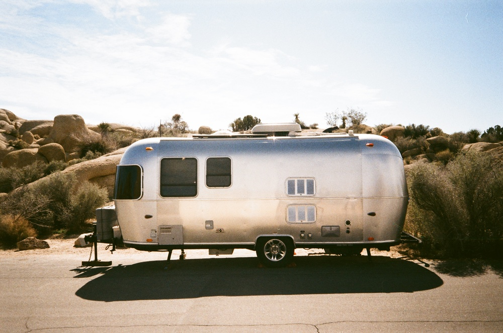 Airstream, Joshua Tree, California