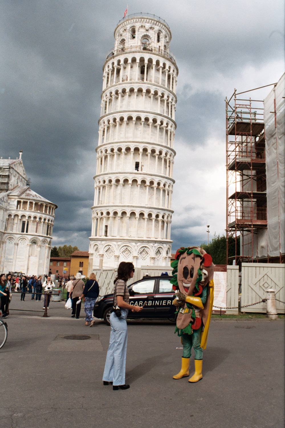 Tower of Subway, Pisa, Italy